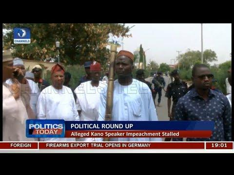 Alleged Kano Speaker Impeachment Stalled |Politics Today|