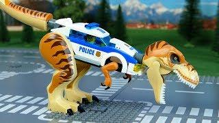 LEGO Police , Bulldozer,   Concrete Mixer, Dump Truck, Mobile Crane  Assembly