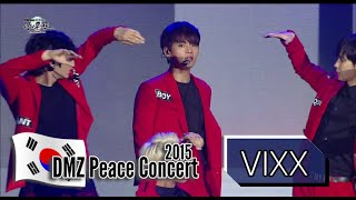 Repeat youtube video VIXX - ETERNITY, 빅스 - 기적, 2015 DMZ Peace Concert1 20150814
