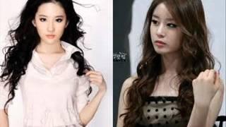 Liu Yi Fei vs Park Ji Yoen Bạn Chọn Ai !