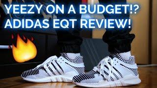 Adidas EQT Support ADV PK ZEBRA Review | On-Feet - YouTube