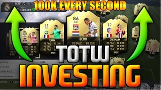 THESE CARDS WILL MAKE YOU *100K EVERY SECOND* (FIFA 17 INFORM TRADING/INVESTMENTS)