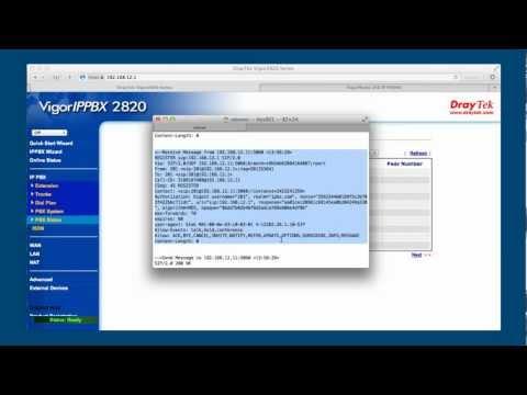 Vigor IPPBX - Crear Extensiones