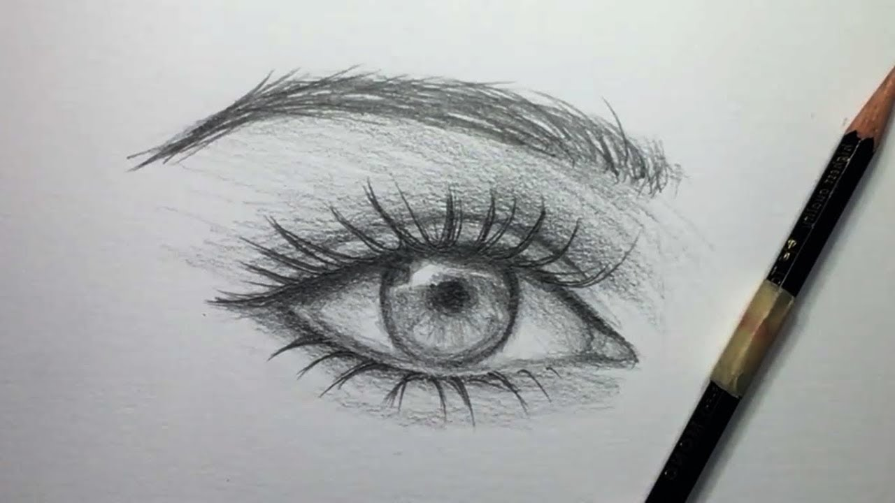 pencil draw detailed eyes incredible ever youtube