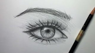 eyes detailed draw pencil
