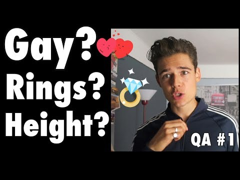 HOW TALL ARE YOU? My Sexuality, Height as a Model, Story of my Rings... QA #1