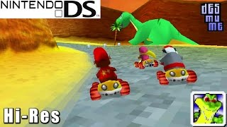 Diddy Kong Racing DS - Nintendo DS Gameplay High Resolution (DeSmuME)