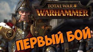 Total War Warhammer прохождение на русском Первый Бой часть 1 обзор и первый взгляд