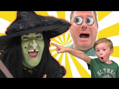 Our Mom is a Witch Halloween Kids Skit