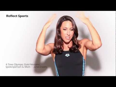 Reflect H2O Swim Hair Care Promo Video (w/ testimonial) with Olympian Janet Evans.mp4