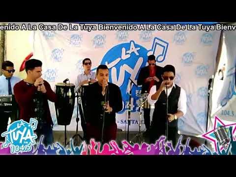 En la radio La Tuya 104.5 FM Ecuador - Orquesta Son de Cary Internacional