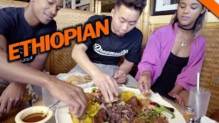 ETHIOPIAN FOOD & CULTURE (You never had this before!) Food | Fung Bros