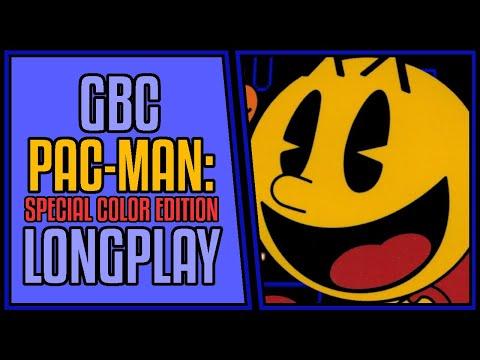 Pac-Man: Special Color Edition - GBC   Longplay   Walkthrough #139 [4Kp60]