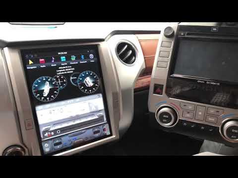 Toyota Tundra Tablet Stereo