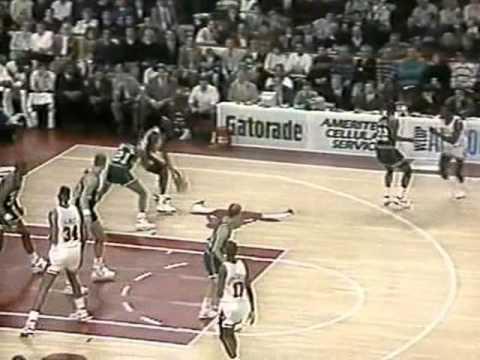 Ricky Pierce (38pts) vs. Bulls (1990)