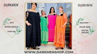 31 05 2021 Часть 2 Показ женской одежды больших размеров DARKWIN от DARKMEN Турция Стамбул Опт