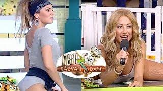 Roxana si Flavia, intr-un body super sexy, la Neatza! Fitness in pozitii care iti iau mintile