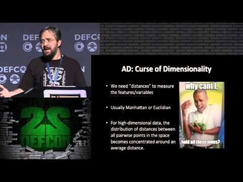 DEF CON 22 - Alex Pinto - Secure Because Math: A Deep Dive On Machine Learning-Based Monitoring