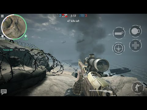 World War Heroes: WW2 FPS - Gameplay Android, IOS