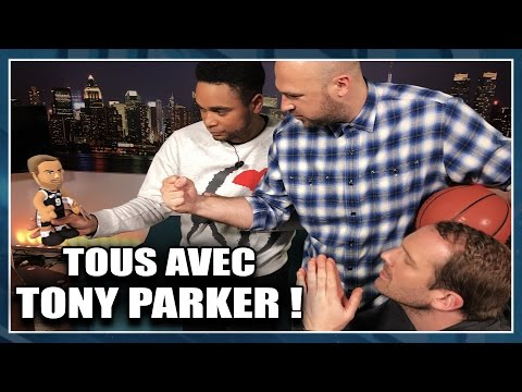 TOUS AVEC TONY PARKER + PLAYOFFS. NBA First Day Show #21
