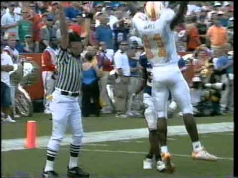 Tennessee Hail Mary at Florida Field 2003 (Clausen to James Banks)
