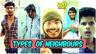 Types Of Neighbours || Hyderabadi Comedy || Warangal Diaries Ft. Nizambad Diaries