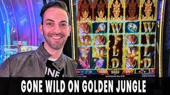 🤑 GONE WILD on Golden Jungle 🌴 Turning Free Play into Free Money  💵