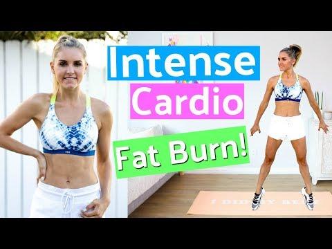 Intense Cardio Workout to BURN FAT  – 10 Minute | Rebecca Louise