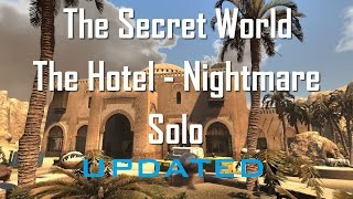 Shade | The Secret World | Hotel - Nightmare Solo (New Chaos/Blade Build)