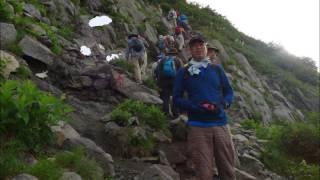 礫川おやじの会 剱岳登山
