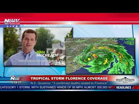 FNN: Watching Tropical Storm Florence; Alaska Bear Cam
