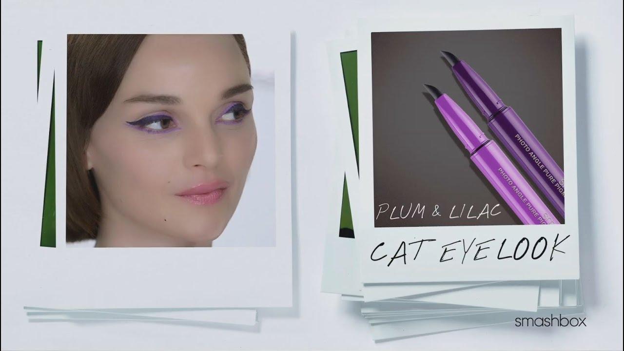 Plum Lilac Cat Eye Photo Angle Gel Liner Youtube