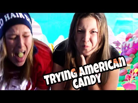 SWEDES TRYING AMERICAN CANDY