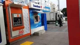 DenizBank снимаем с карты сбербанка рубли в турецких лирах Турция