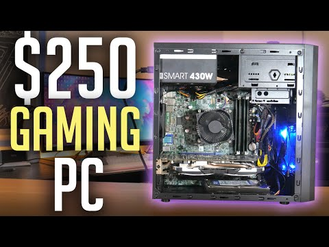 $250 Budget Gaming PC Build! (2019)