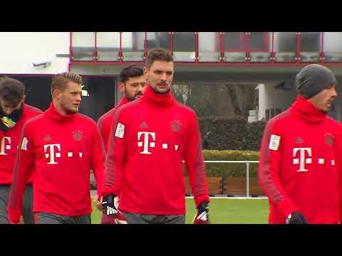 DFB-Pokal - FC Bayern München Vor Dem Achtelfinale Gegen Hertha BSC Berlin