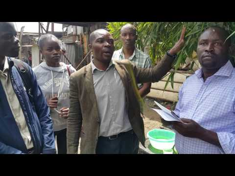 Nairobi river and Ngara e-waste recycling activities