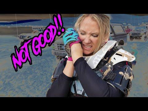 Silver lake sand dunes 2018 - Labor Day Weekend - Amanda breaks her wrist!