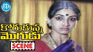 Korukunna Mogudu Movie Scenes - Jayasudha Returns To Her Home || Shoban Babu || Nutan Prasad