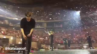 [FANCAM] BTS THE WINGS TOUR MANILA 2 SAYING GOODBYE WITH CUTE EARS