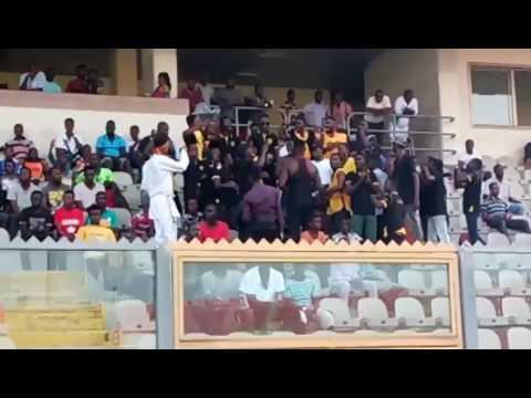 Katanga boys storm final Black Stars training session to boost morale ahead of Ethiopia game