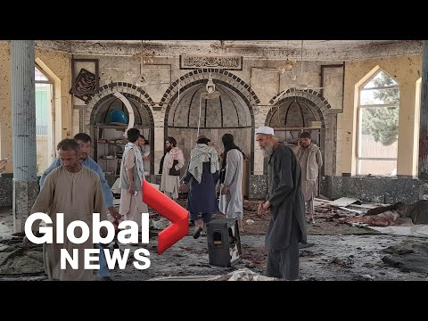 Suicide bomber kills 46 at Afghanistan mosque, wounds more than 140