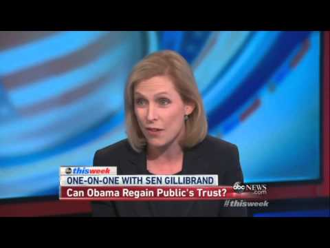 Gillibrand: 'We all knew' Obama was Lying