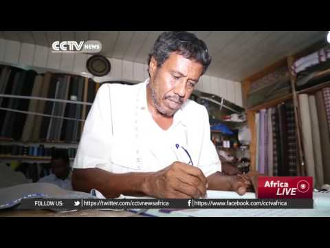 Somali music legend returns home, runs successful tailoring business