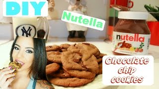 Best Nutella Chocolate Chip Cookies/ Recipe !