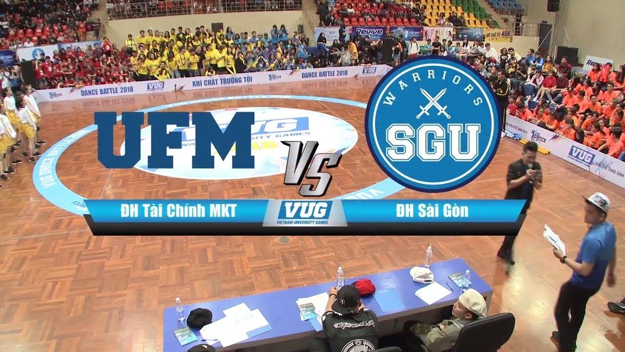 #Highlight VUG 2018 || Dance Battle – HCM: ĐH Tài Chính – Marketing vs ĐH Sài Gòn | 08.04.2018