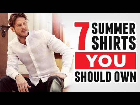 7-summer-shirts-every-man-should-own-(chambray,-linen,-cotton,-&-more!)