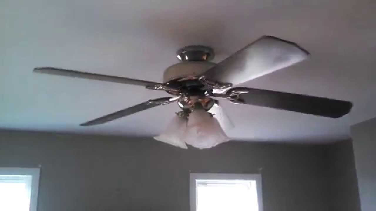 Kmart Ceiling Fans : Hunter pavilion ceiling fan sold at kmart youtube