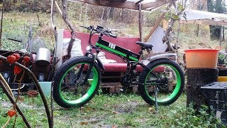 TOLMiN con electric bike MX-01 1000w