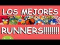 Los MEJORES juegos RUNNERS android | Android Evolution
